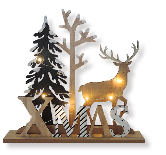 Wooden christmas decoration Home decoration