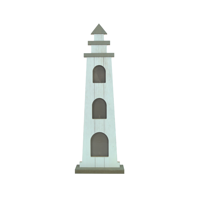Wooden lighthouse decoration Home decoration