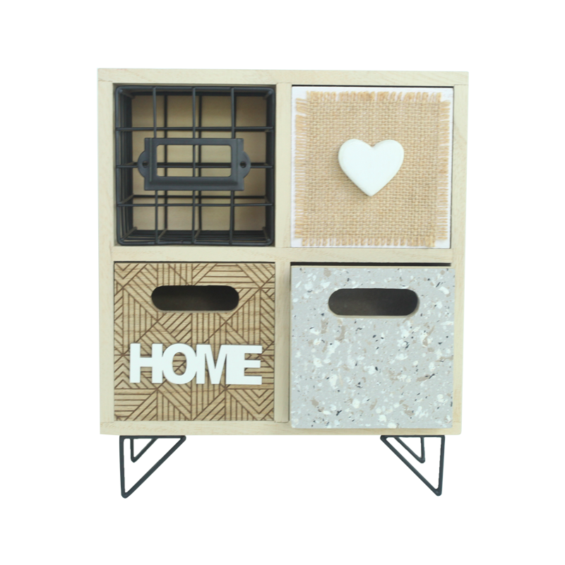 Wooden Drawer Home Decoration