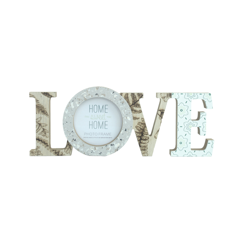 Wooden Letter Stand Home Decoration & Frames