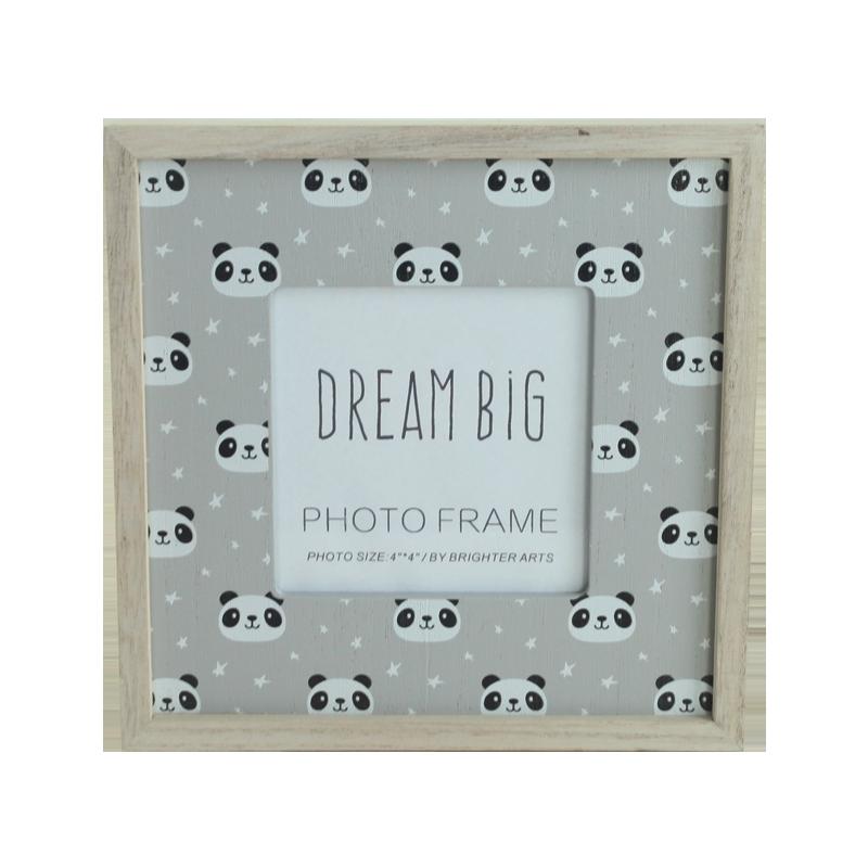 Panda Wooden Frame Home&Kids Decoration