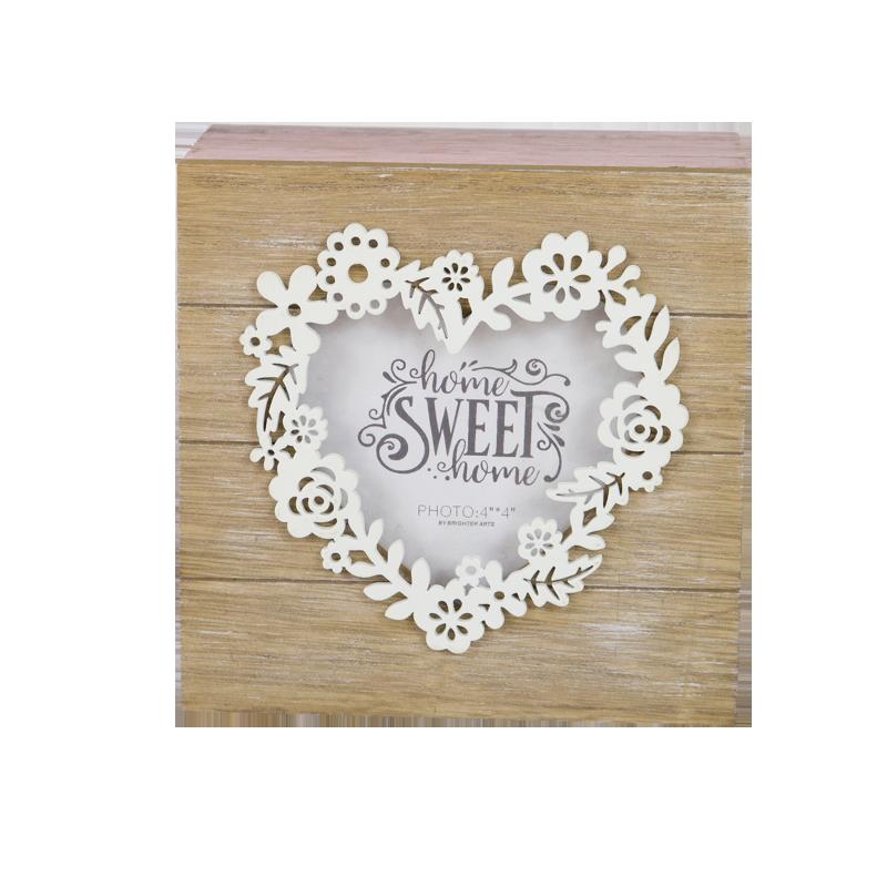 Valentine Wooden Tea Box Home Decoration