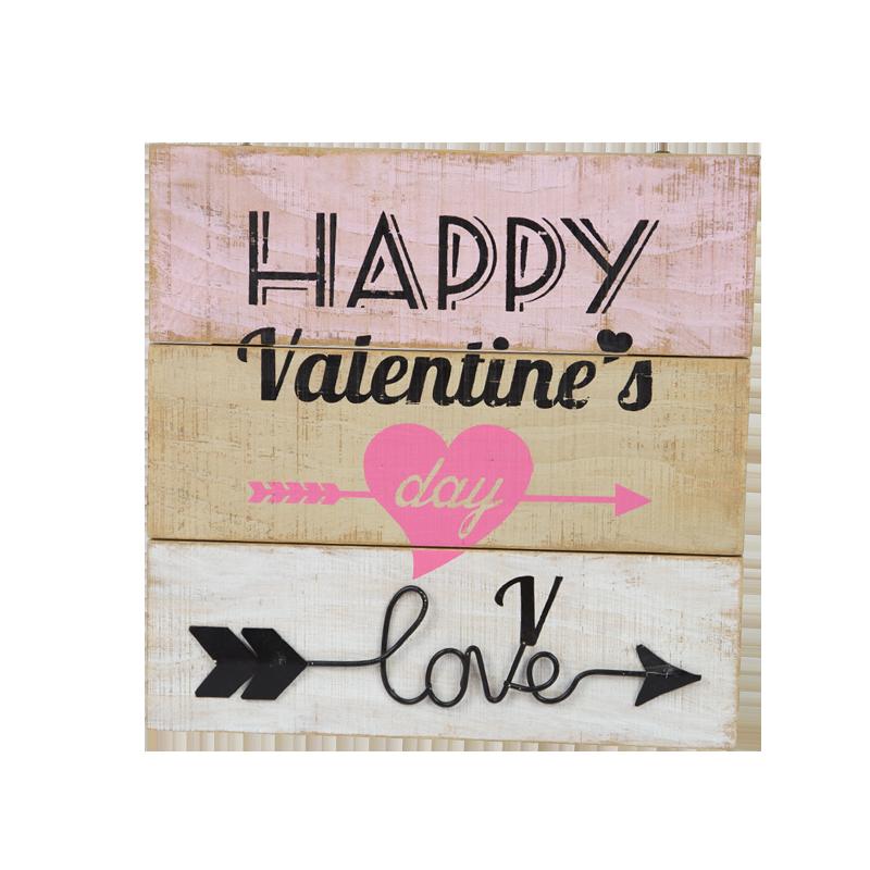 Valentine Wooden Stand Home Decoration