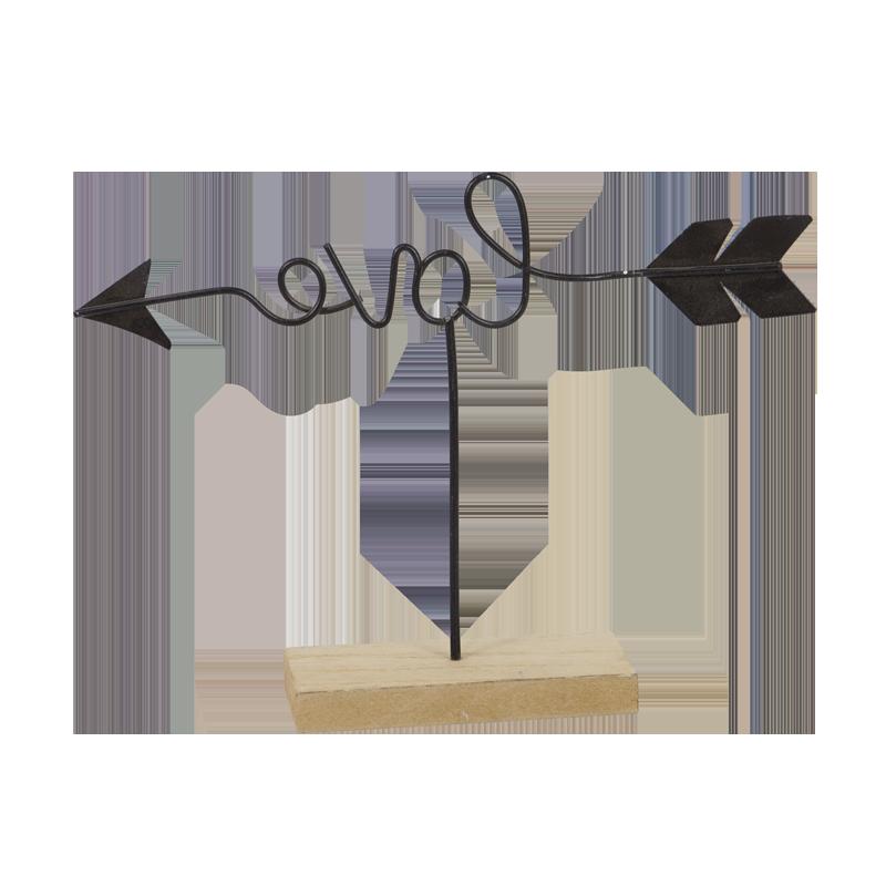 Valentine Metal Stand Home Decoration