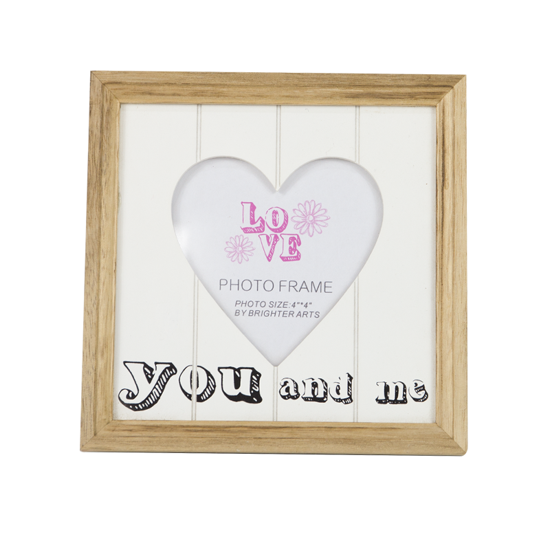 Valentine Wooden Photo Frame Stand Home Decoration