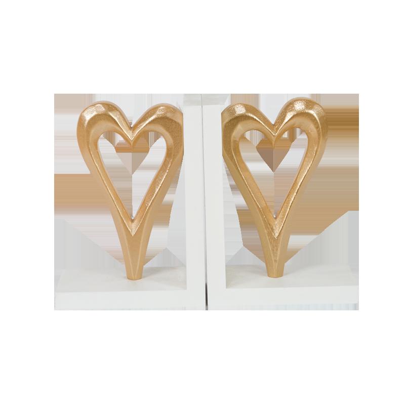 Valentine Wooden Heart Stand Home Decoration