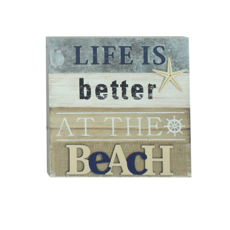 Beach Wooden Stand Home Decoration