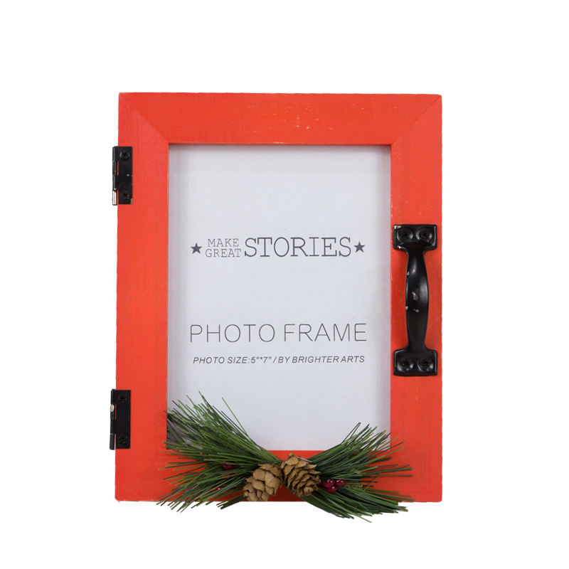 Wooden Christmas Frame Home Decoration