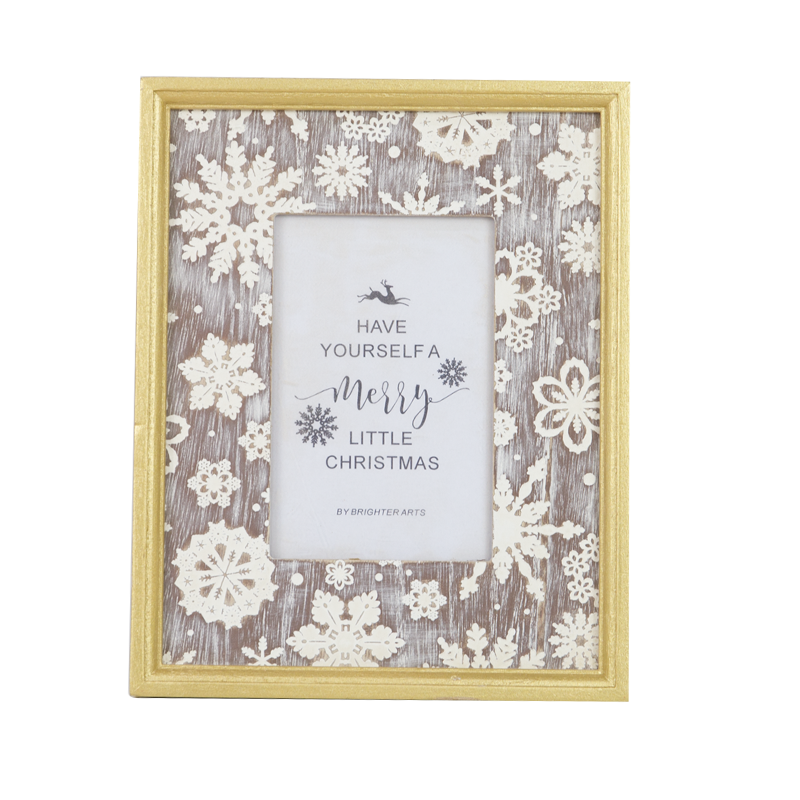 Wooden Christmas Wooden Frame Home Decoration