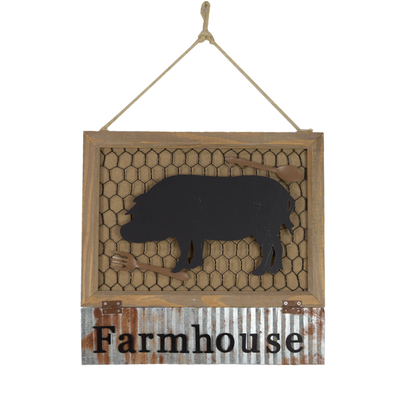 Farm Wooden Hanger Home Decoration