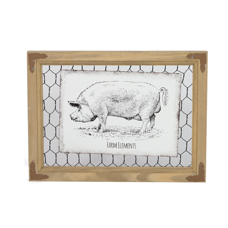 Farm Wooden Photo Frame Home Decoration