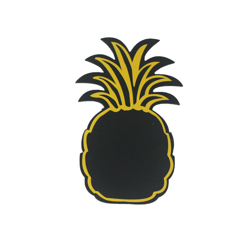 Summer Pineapple Blackboard Home Decoration
