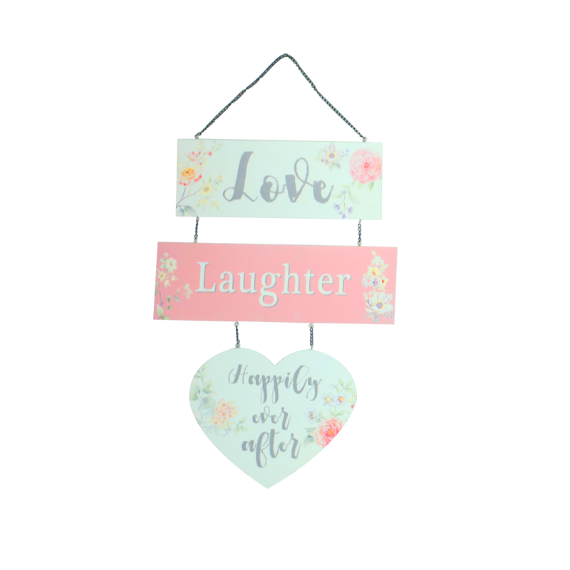 Valentine Wooden Hanger Home Decoration