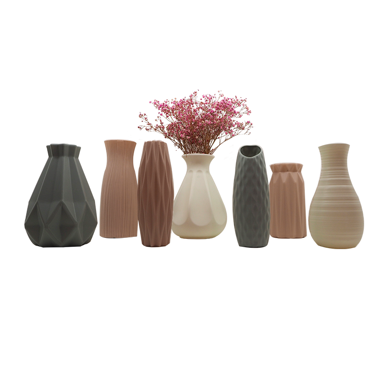 Plastic Vase Stand Home Decoration