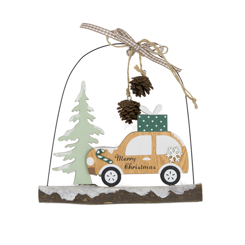 Wooden Christmas Hanger Home Decoration