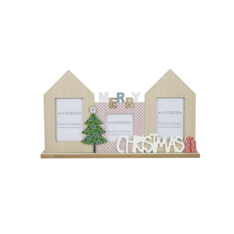 Christmas Wooden Stand Home Decoration