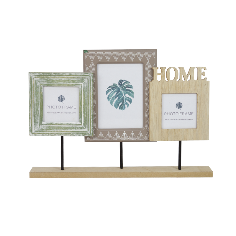 Summer leaf Wooden Frame Stand Home Decoration