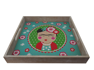 WOODEN DECORATION GIRL SERIES