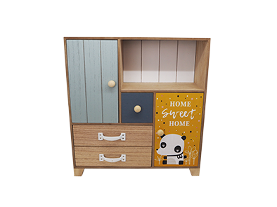 KID WOOD DRAWER HOME DECORATION